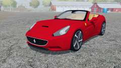 Ferrari California 2010 4WD for Farming Simulator 2013