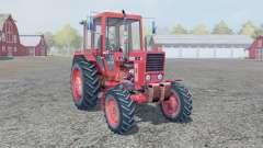 MTZ-82 bright-red color for Farming Simulator 2013