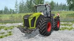 Claas Xerion 5000 Trac VC change wheels for Farming Simulator 2015