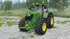John Deere 6170M animated element for Farming Simulator 2015