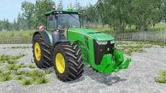John Deere 8370R IC control for Farming Simulator 2015
