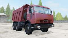 KamAZ-65115 dark red color for Farming Simulator 2017