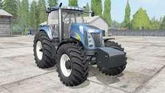 New Holland TG285 2004 for Farming Simulator 2017