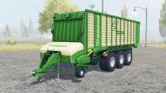 Krone ZX 550 GD north texas green for Farming Simulator 2013