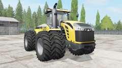 Challenger MT900E wheels options for Farming Simulator 2017