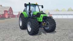 Deutz-Fahr 7250 TTV Agrotron new reifen〡felgen for Farming Simulator 2013