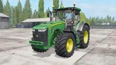 John Deere 8230-8370R for Farming Simulator 2017