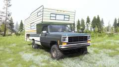 Chevrolet K10 Camper 1987 for MudRunner