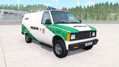 Gavril H-Series Lithuanian Police v1.2 for BeamNG Drive