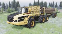 Volvo A40G v1.2 for Spin Tires