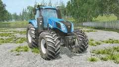 New Holland T8.320 full animation hydraulic for Farming Simulator 2015