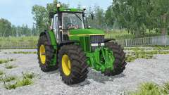 John Deere 7810 change wheels for Farming Simulator 2015
