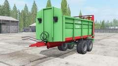 Unia Tytan 8 plus for Farming Simulator 2017