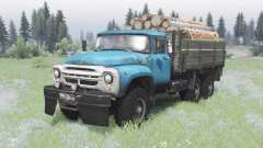 ZIL-130 6x6 offroad for Spin Tires