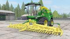 John Deere 8000 Michelin tires for Farming Simulator 2017