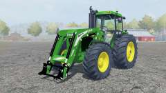 John Deere 4455 fronƫ loader for Farming Simulator 2013