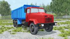 KrAZ-6130С4 for Farming Simulator 2015