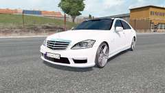 Mercedes-Benz S 65 AMG (W221) 2009 for Euro Truck Simulator 2