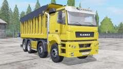 KamAZ-65201 with the trailer for Farming Simulator 2017