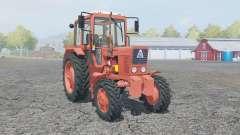 MTZ-82 Belarus manual ignition for Farming Simulator 2013