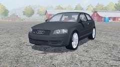 Audi A3 3.2 quattro (8P) 2003 for Farming Simulator 2013