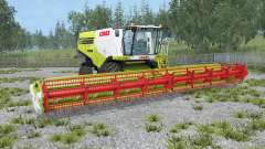 Claas Lexion 770 animated rear axle for Farming Simulator 2015