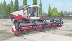 Acros 585 the choice of engine and wheels for Farming Simulator 2017