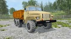 Ural-5557 dynamic exhaust for Farming Simulator 2015