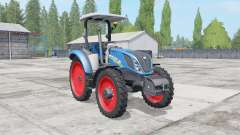 New Holland T5.100-120 2 tire types for Farming Simulator 2017