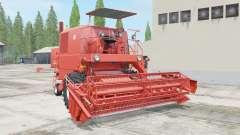 Bizon Super Z056 red orange for Farming Simulator 2017