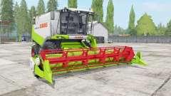 Claas Lexion 530 vivid lime green for Farming Simulator 2017