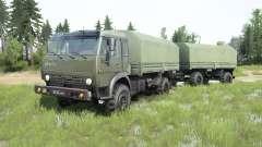 KamAZ-4350 Mustang for MudRunner