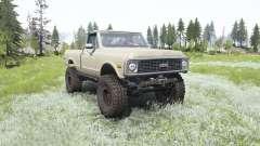 Chevrolet K10 1972 for MudRunner