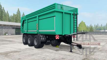 Wagner WK 800 plus caribbean green for Farming Simulator 2017