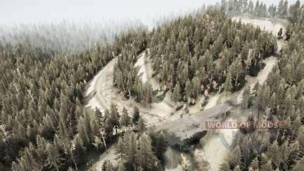 Forgotten road for MudRunner