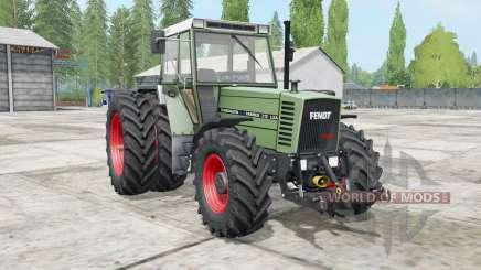 Fendt Farmer 300 LSA Turbomatik wheels selection for Farming Simulator 2017