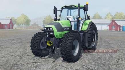 Deutz-Fahr Agrotron TTV 6190 new wheel rims for Farming Simulator 2013