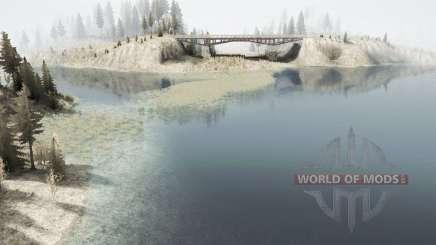 Where the lake for MudRunner