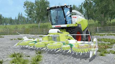 Claas Jaguar 870 and Orbis 750 for Farming Simulator 2015