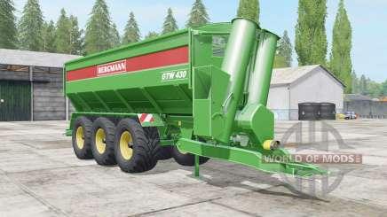 Bergmann GTW 430 all loaded for Farming Simulator 2017