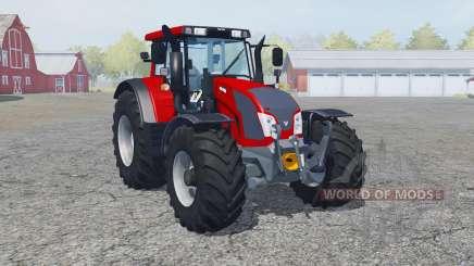 Valtra N163 rosso corsa for Farming Simulator 2013