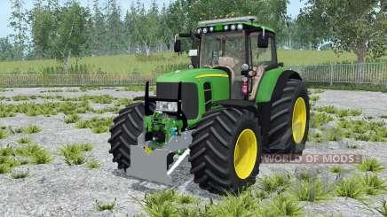 John Deere 7530 Premium moving elements for Farming Simulator 2015