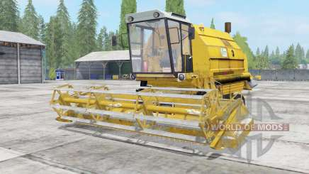 Bizon Gigant Z083 minion yellow for Farming Simulator 2017