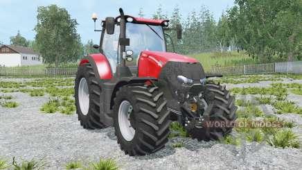 Case IH Optum 300 CVX light brilliant red for Farming Simulator 2015
