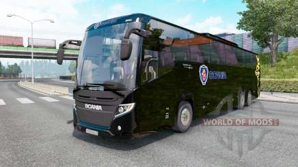 Scania Touring K410 black for Euro Truck Simulator 2