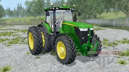 John Deere 7310R front loader for Farming Simulator 2015