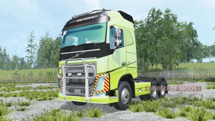 Volvo FH16 600 Globetrotter 2014 for Farming Simulator 2015