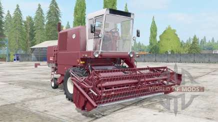Bizon Super Z056 redwood for Farming Simulator 2017