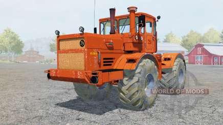 Kirovets K-700A bright orange color for Farming Simulator 2013