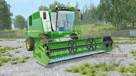 John Deere W540 lime green for Farming Simulator 2015